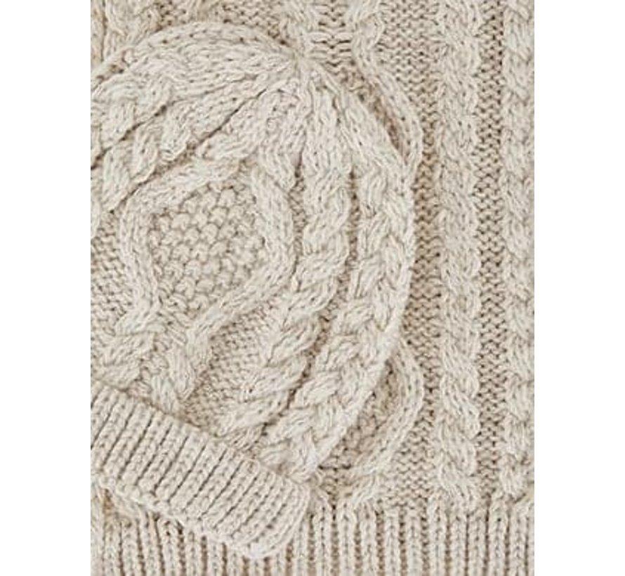 5909 Jacquard scarf set