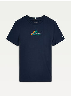 Tommy Hilfiger KB06846 Mountain logo tee s/s