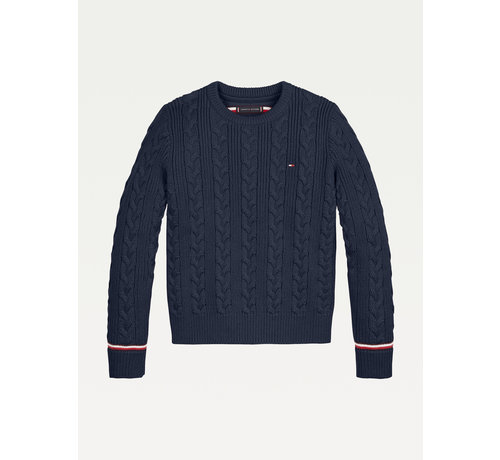 Tommy Hilfiger KB 06920 Cable Sweater