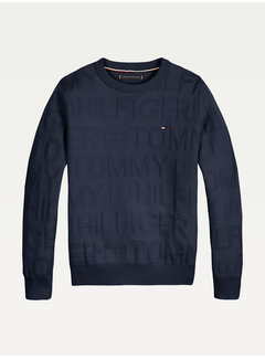 Tommy Hilfiger KB 06929 Jacquard all over sweater