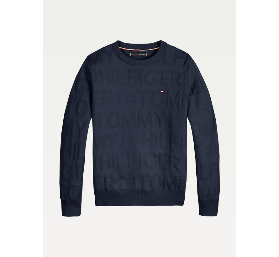 KB 06929 Jacquard all over sweater