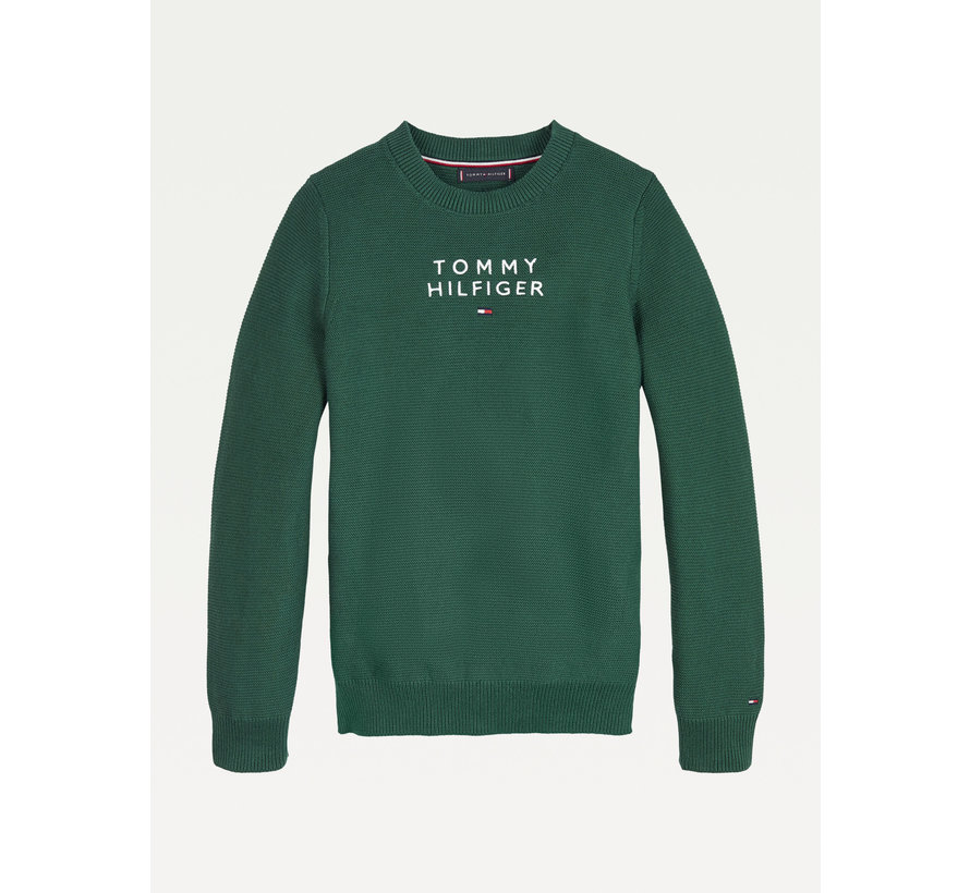 KB 06932 TH logo sweater
