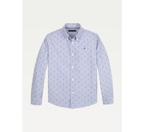 Tommy hilfiger pre KB06166 mini dobby shirt