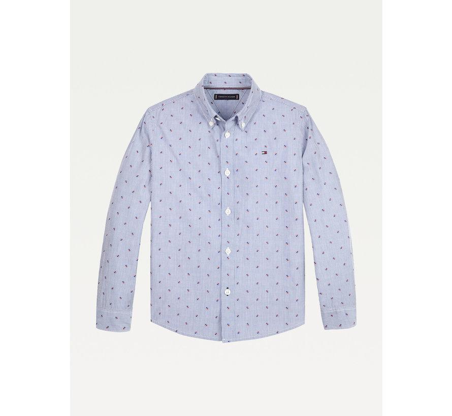 KB06166 mini dobby shirt