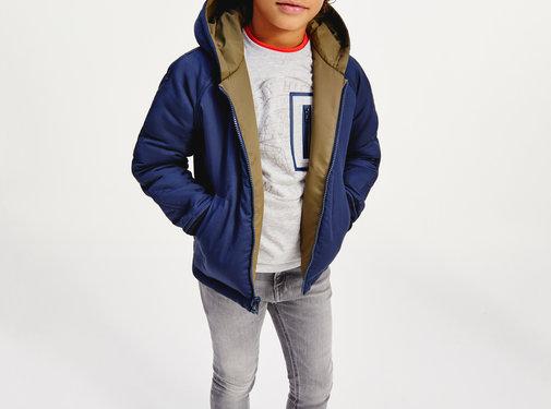 Tommy hilfiger pre KB06260 reversible bomer jacket