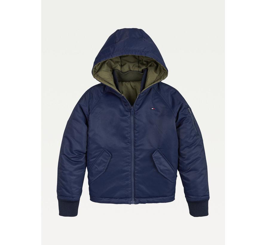 KB06260 reversible bomer jacket