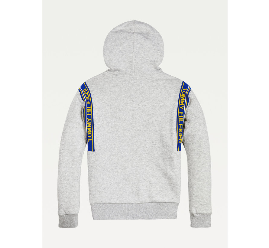 KB06340 varsity rib insert hoodie