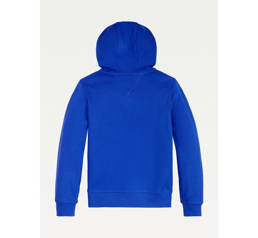 KB06354 applique hooded sweatshirt