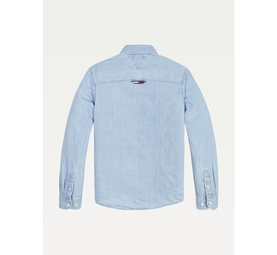 KB06415 denim jersey shirt