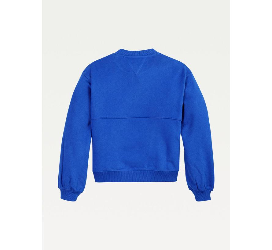 KG05686 t applique sweatershirt