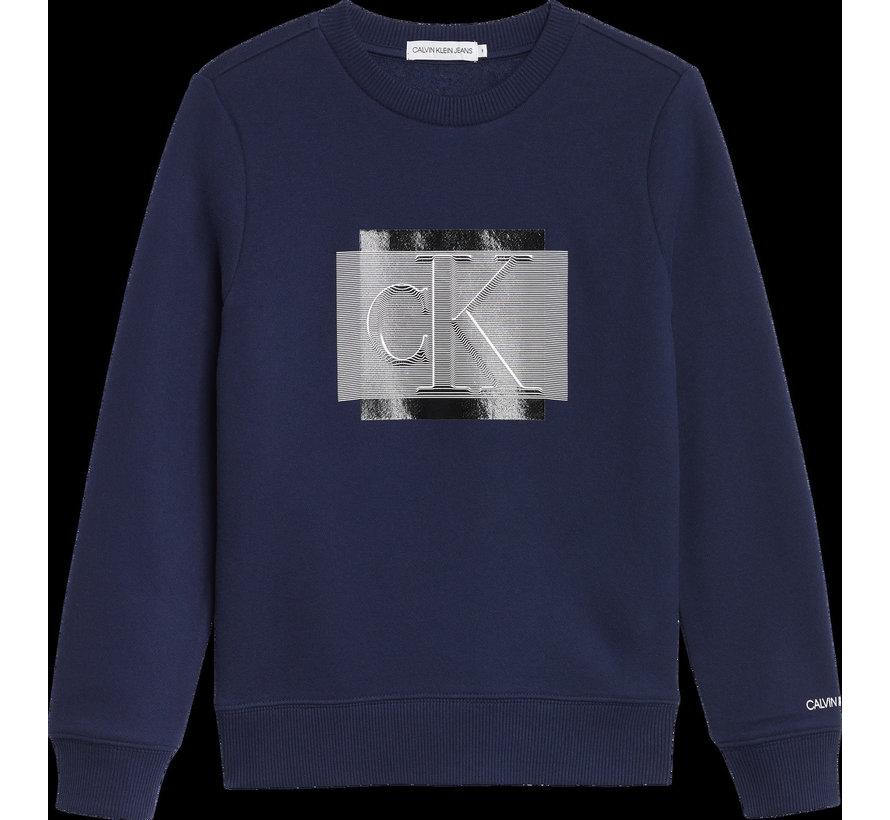 IB00907 lined sweatshirt
