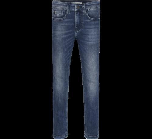 Calvin Klein pré IB00925 skinny washed dark jeans