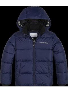 Calvin Klein pré IB00937 tape puffer jacket