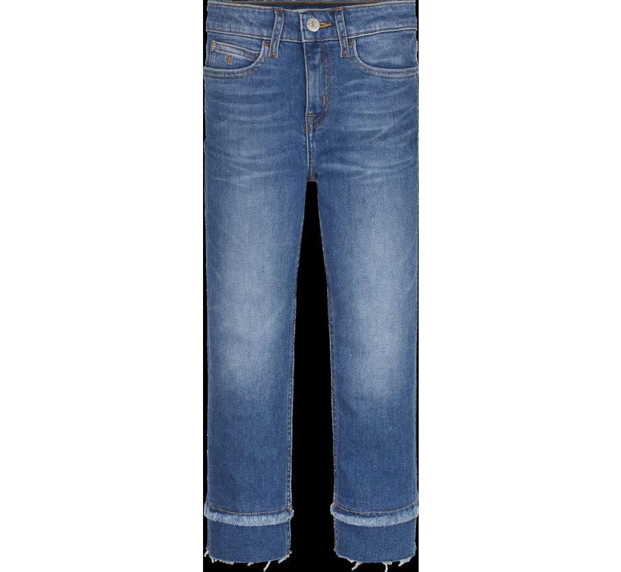IG00997 slim HR crop jeans