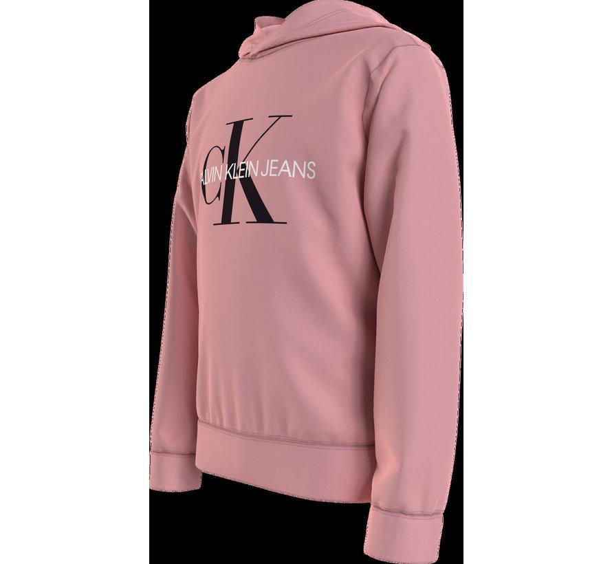 IU00073 monogram hoodie