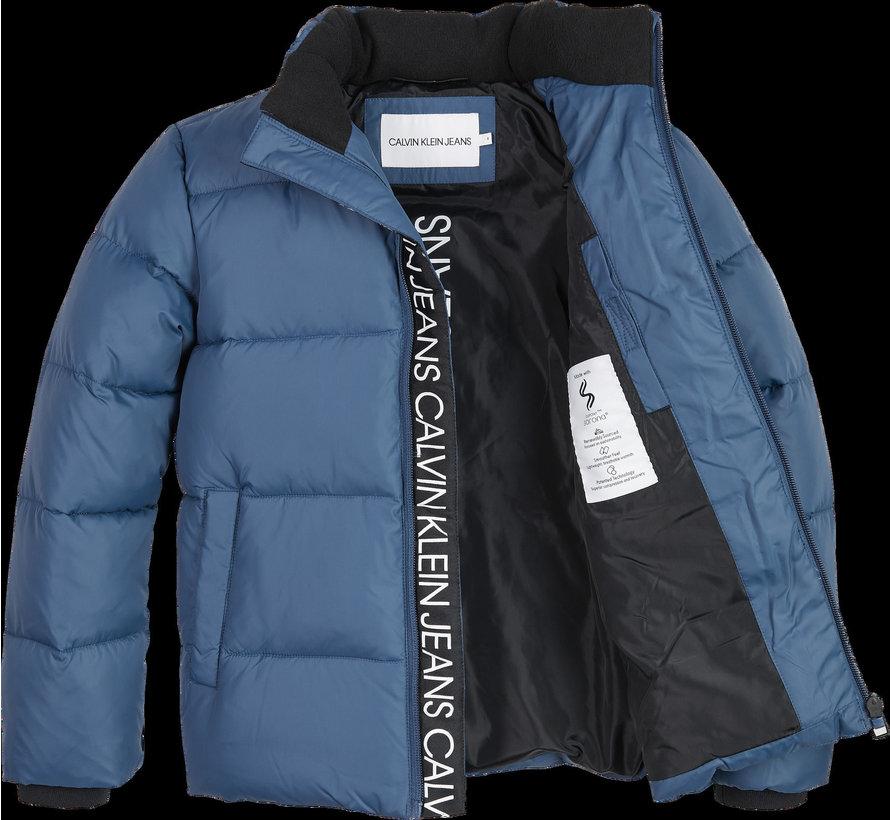 IB00937Tape Puffer Jacket
