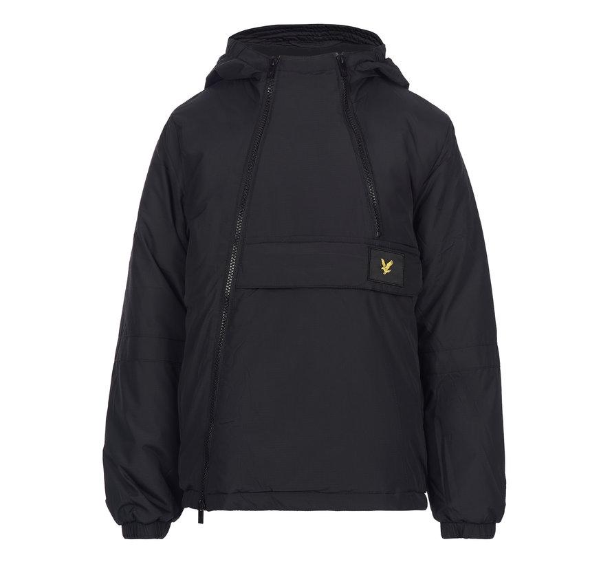 LSC1060 dual zip ripstop hooded jacket