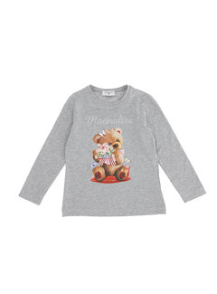 Monnalisa 118610SI-8201 T-shirt con corsetto