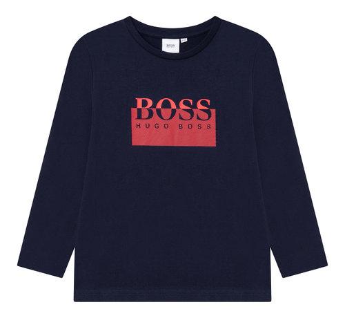 BOSS J25L64 T-Shirt lange mouwen