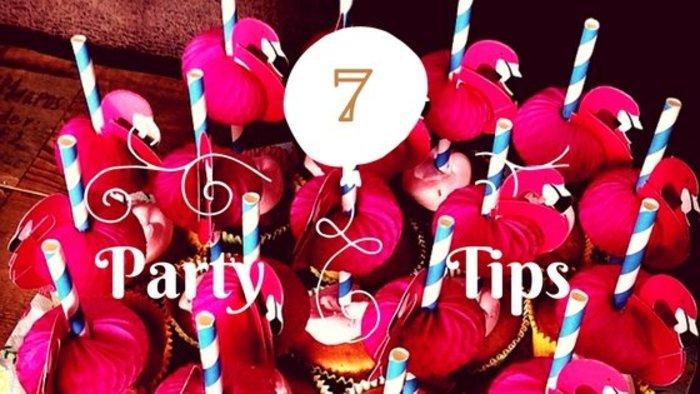 7 tips voor een geslaagd kinderfeestje