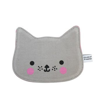 House of Disaster wallet kawaii cat