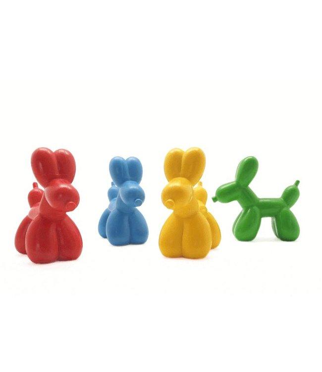 Balloon Dog Crayons set of four crayons