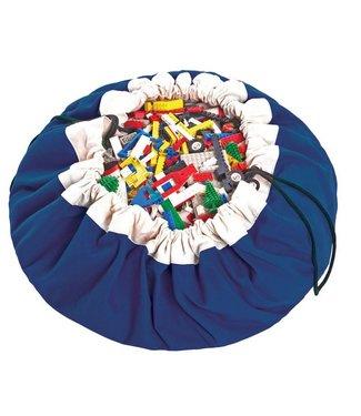 Play & Go opbergzak speelkleed in kobaltblauw