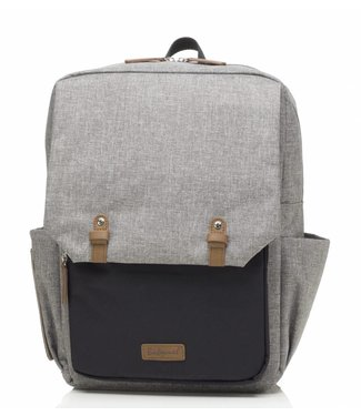 Babymel diaper bag George Gray / Black