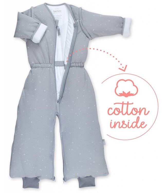 Bemini 9-24 months Winter sleeping bag Pady Jersey Grizou Gray