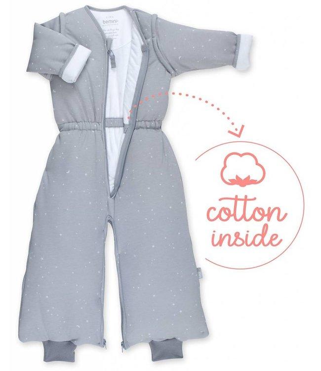 Bemini 9-24 months Winter sleeping bag Pady Jersey Grizou Gray