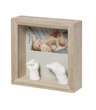 Baby Art my baby sculpture frame Honey - Copy