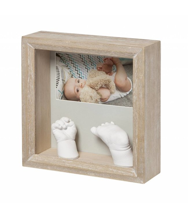 Baby Art my baby sculpture frame Honey - Copy