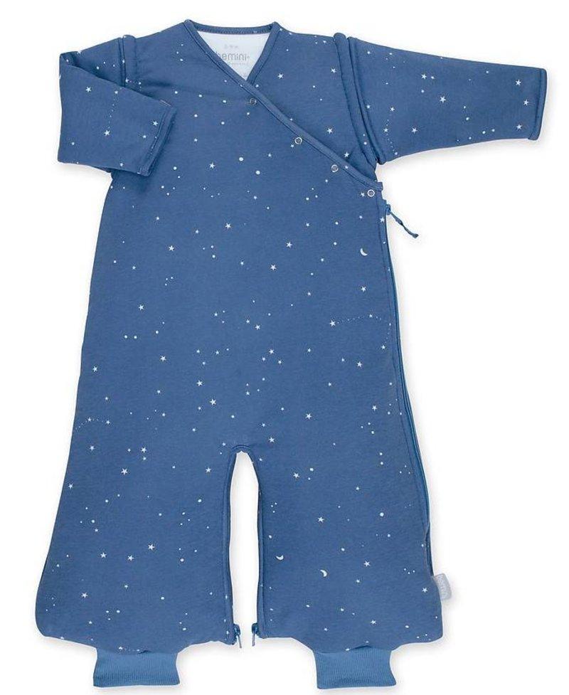 Bemini 3-9 mnd winterslaapzak Pady Jersey Stary Jeans Blauw