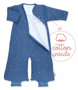 Bemini 3-9 months winter sleeping bag Pady Jersey Stary Jeans Blue