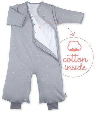 Bemini 3-9 months winter sleeping bag Pady Jersey Stary Light Gray