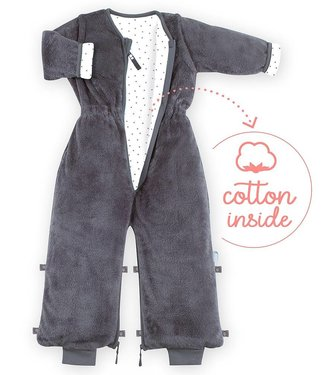 Bemini 18-36 mnd winterslaapzak Softy Jersey Pingu