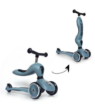 Scoot and Ride Highwaykick 1 - Steel