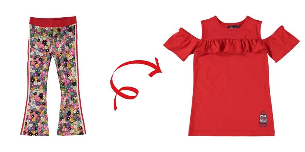 02cbfb4c798a07 In dit zelfde thema is ook een leuk rood jurkje met ruches en een print op  de achterkant verkrijgbaar. Dit O'Chill jurkje heet Lidwien en is netjes en  ...