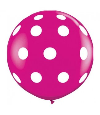 XXL Polka Dot Ballon 80 cm
