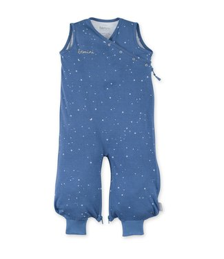 Bemini 3-9 months summer sleeping bag Jersey star print deninmblue