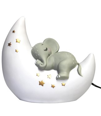 House of Disaster night lamp elephant on the moon
