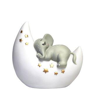 House of Disaster nachtlamp olifant op de maan klein