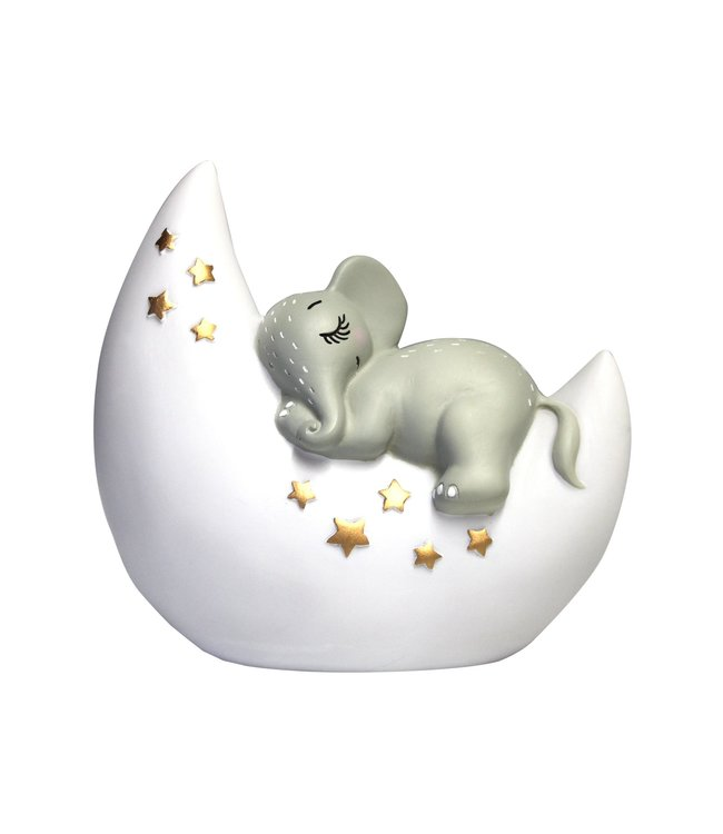 House of Disaster small night lamp elephant on the moon