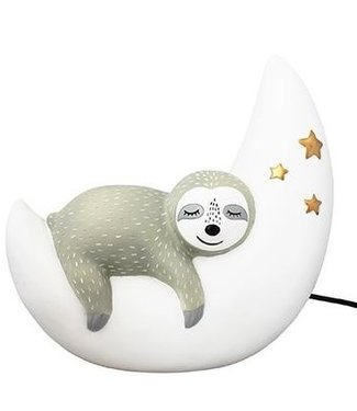 House of Disaster night lamp sloth on the moon