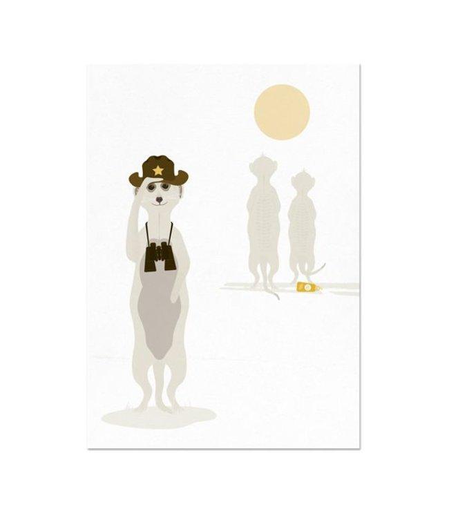greeting card Meerkat