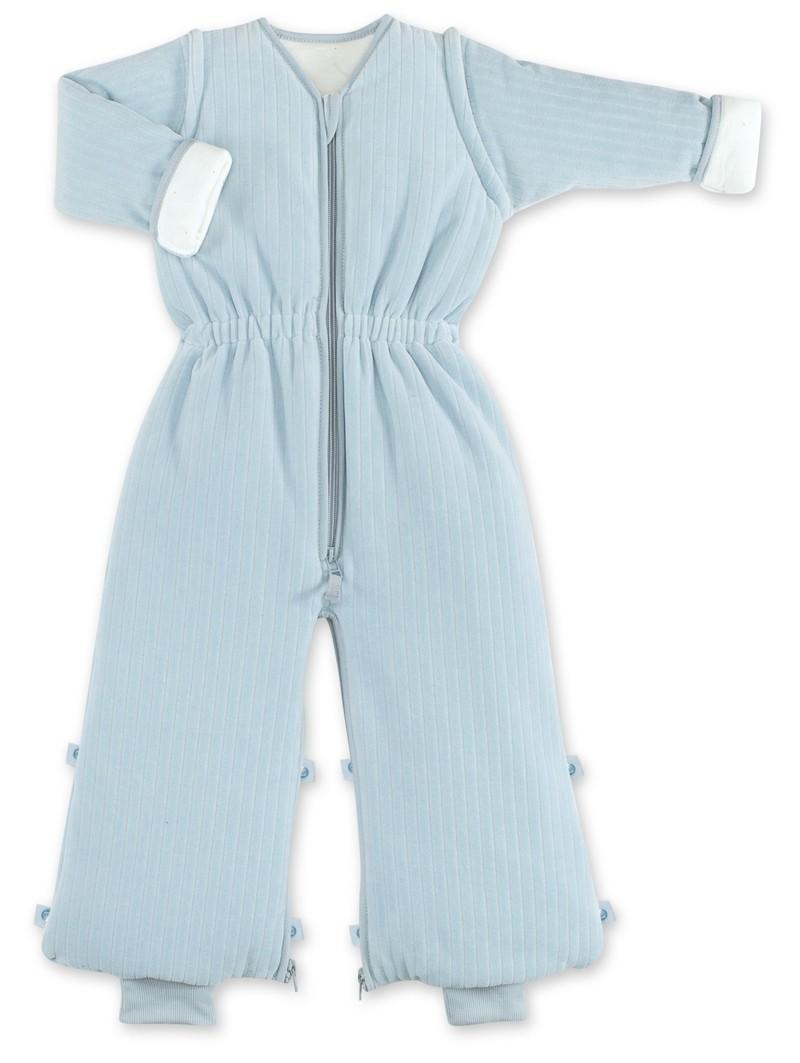 Bemini Bemini 18-36 Maanden Winterslaapzak - Velvet Breeze Blauw - 110 cm - Tog 3.0