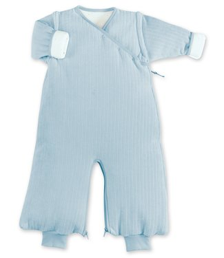 Bemini 3-9 months winter sleeping bag Velvet Breeze blue