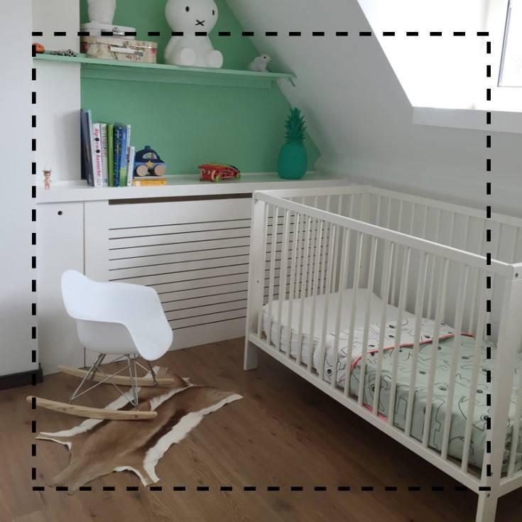 Het kinderkamertje: monochroom of mint?