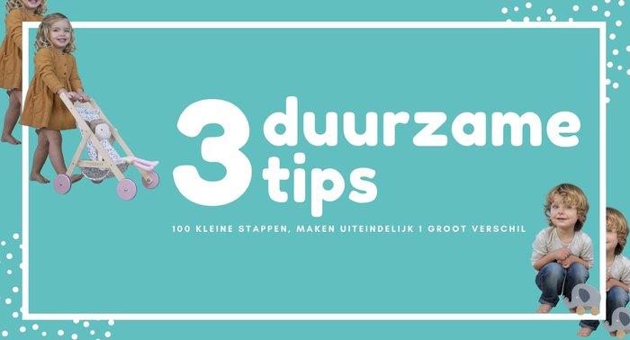 3 duurzame tips