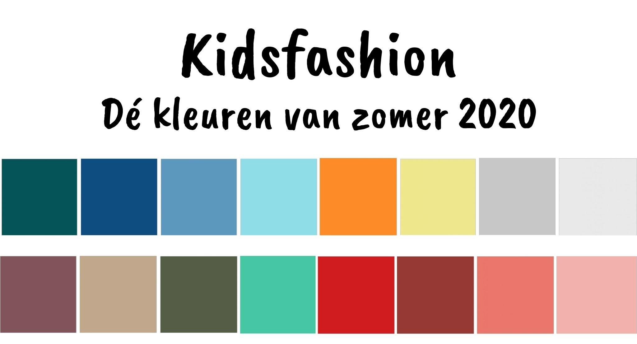 Dé kleuren en trends van de zomercollecties 2020